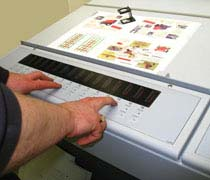 Heidelberg 5-colour Printmaster 52 in operation